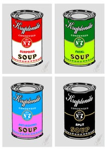 Image of Kryptonite Soup Can Set