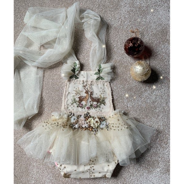 Image of The Christmas blossom romper