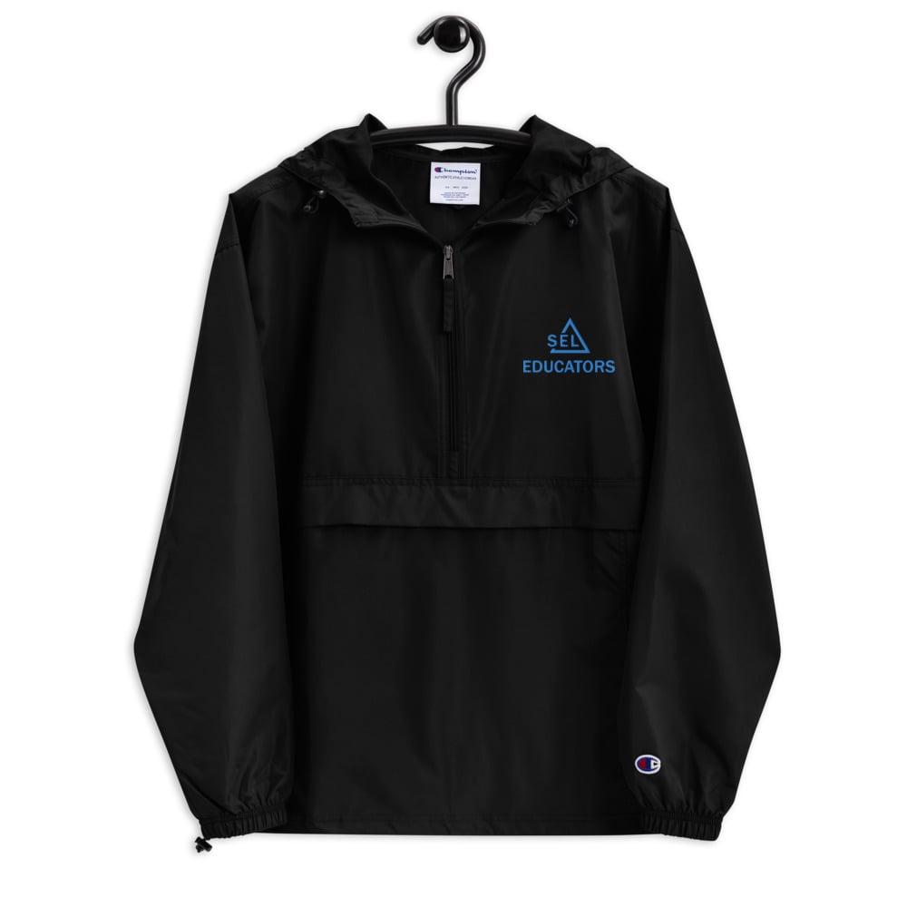 Image of SEL Educators Embroidered Champion Jacket