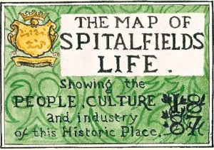 Image of The Map of Spitalfields Life