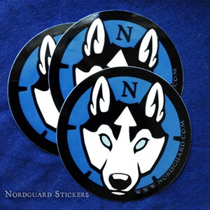 Image of Nordguard Vinyl Indoor/Outdoor Sticker [Sold Out]