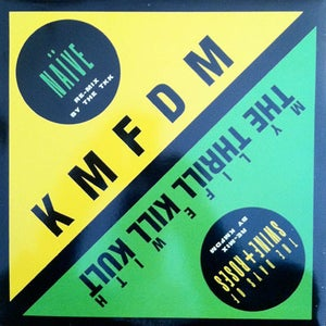 Wax Trax Records Kmfdm Tkk Original Split 12 Quot Vinyl