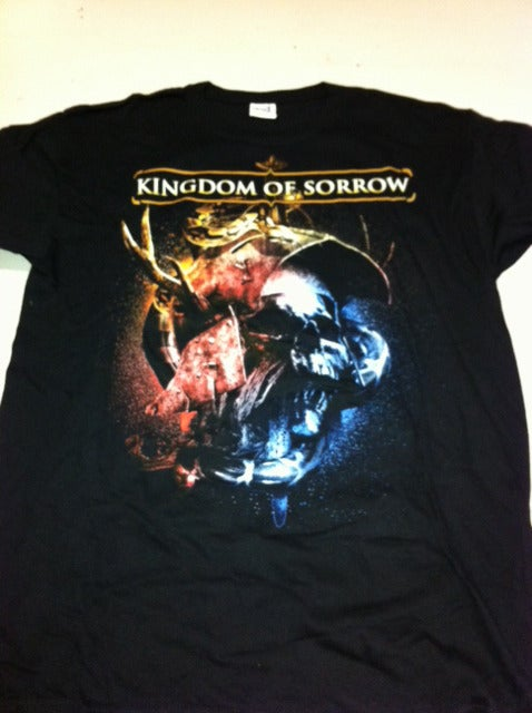 "Image of KINGDOM OF SORROW "" Behind The Blackest Tears "" Shirt"
