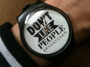 Image of 'DON'T LIKE PEOPLE' WATCH ***limited run***
