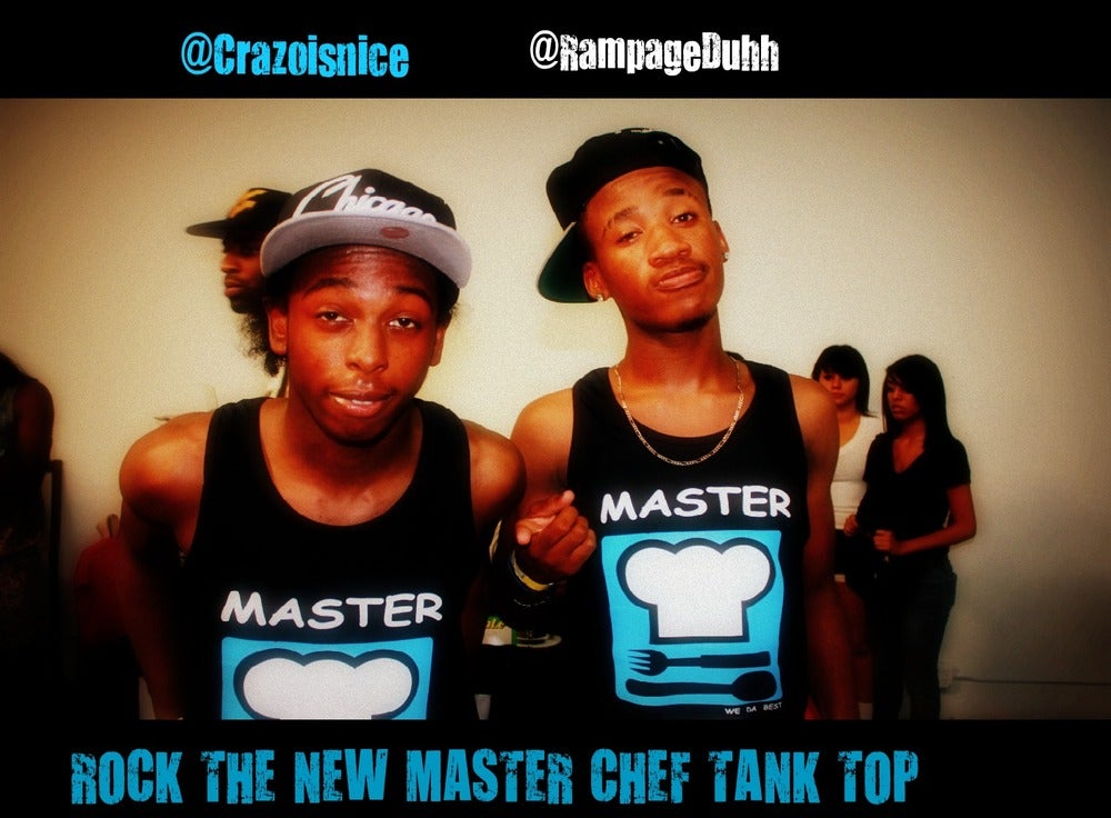 Image of BLACK MASTER CHEF TANKS
