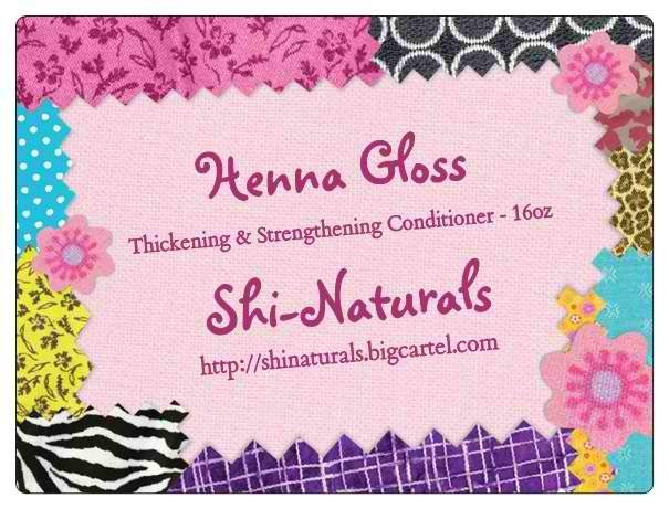 Image of Henna Gloss Thickening & Strengthening Conditioner
