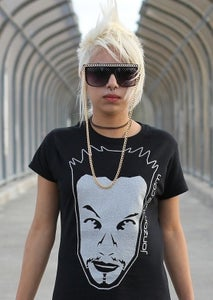 Image of Girl's Silver Ink Tee