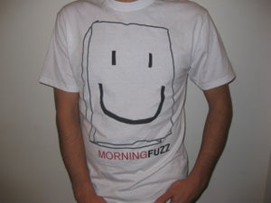 Image of Morning Fuzz Bag Head T-Shirt *White