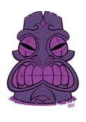 Image of Tiki Head Prints