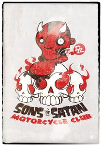 Image of Sons of Satan Motorcycle Club Print