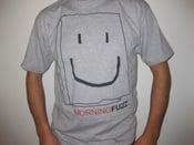 Image of Morning Fuzz Bag Head T-Shirt *Gray