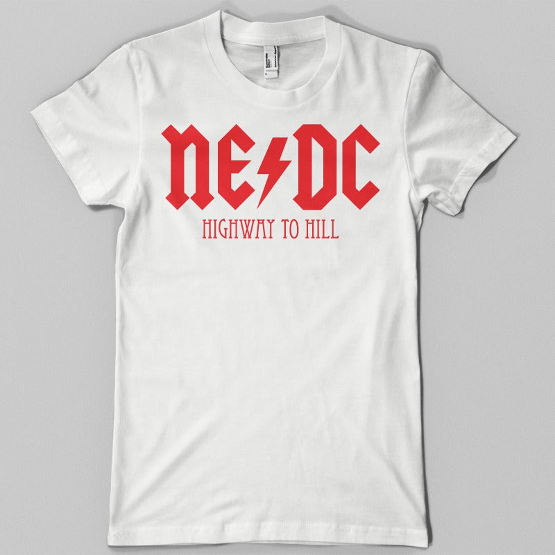 Image of NE/DC Tee (White)