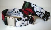 Image of Beastie Skulls Dog Collar on UncommonPaws.com