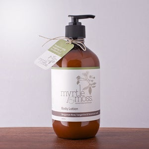 Image of Body Lotion - Bergamot Rind, Tangerine & Geranium Leaf - 500ml