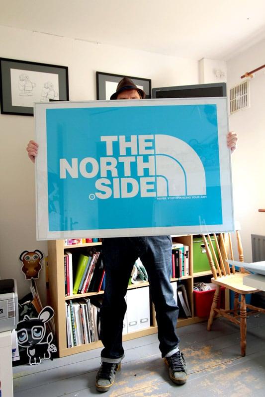 Image of NORTHSIDE HUGE A0 PRINT IN 4 COLOURS