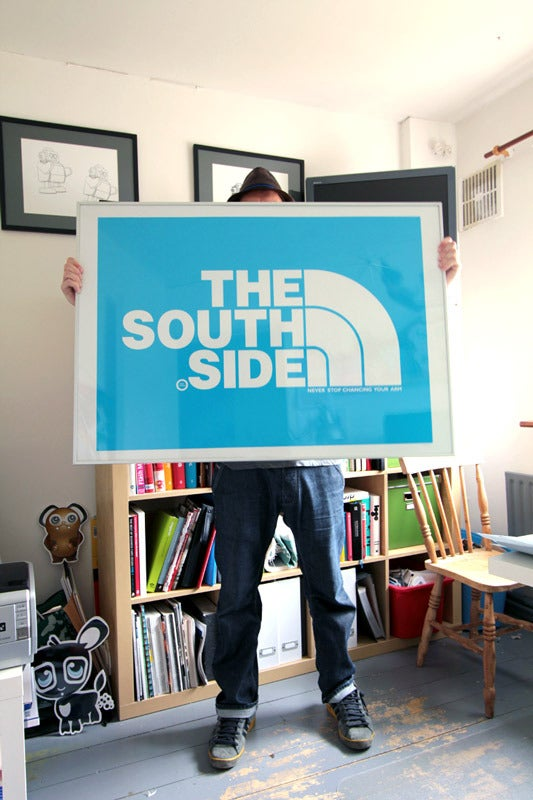 Image of SOUTHSIDE HUGE A0 PRINT IN 4 COLOURS