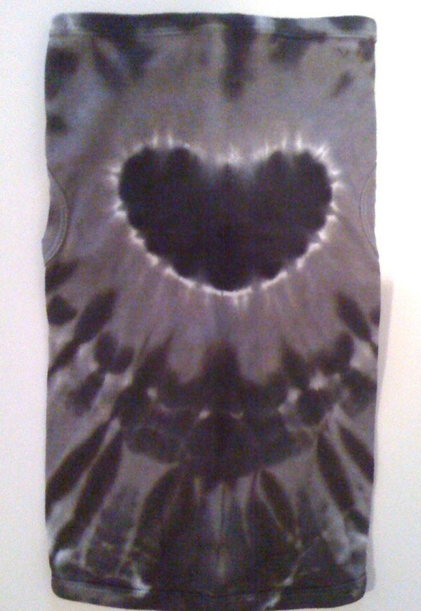 Image of The Blackest Heart Tie Dye - Dog Tee