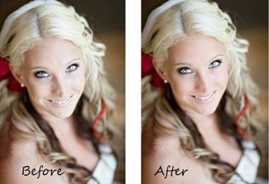 Image of Deluxe Portrait Retouching for Child, Man or Woman & Weddings