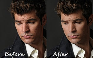 Image of Standard Portrait Retouching for Man