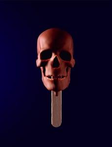 Image of Choc Skullsicle