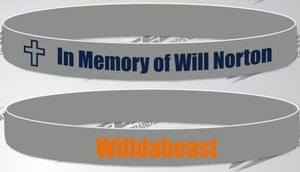 Image of In Memory of Will Norton Wristband