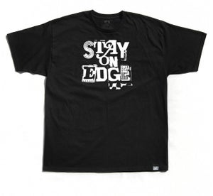 "Image of ""Stay On Edge"" Tee (P1B-T0106)"
