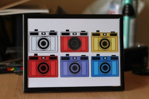 Image of Holga Camera Print
