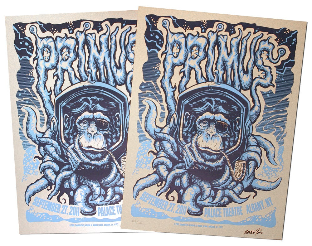 Image of Primus Gig Poster (S/N Edition) SOLD OUT