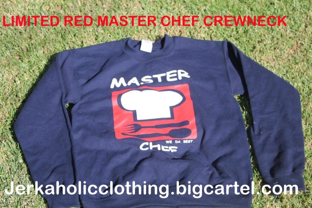 Image of MASTERCHEF CREWNECK IN RED