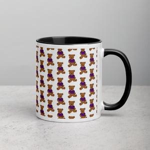 Image of Janeesa's Benny The Bear Mug with Color Inside