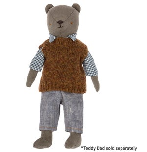 Image of Maileg - Shirt Pullover And Pants For Teddy Dad (Pre-order)