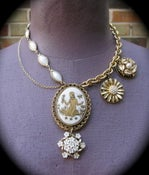 Image of Vintage Cameo Necklace, Almost Alice