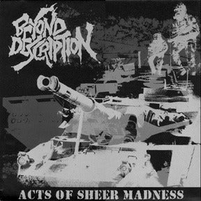 """Image of BEYOND DESCRIPTION """"Acts Of Sheer Madness"""" LP"""