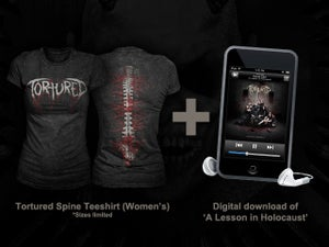 Image of Spine T-Shirt (Ladies) *Limited Stock