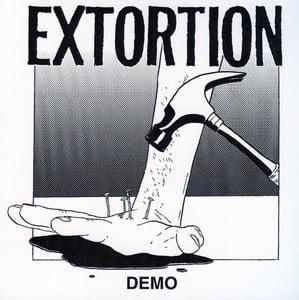 "Image of EXTORTION ""DEMO"" 7"" Australian Import"