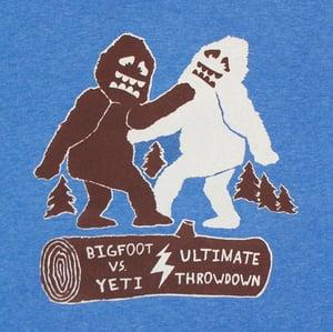 Image of Bigfoot vs Yeti TShirt