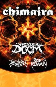 Image of 11/3 @ BB KINGS w/ Chimaira, Revocation, Impending Doom