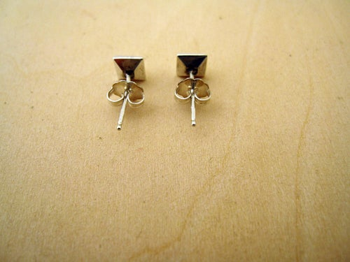 Image of PYRAMID stud earrings