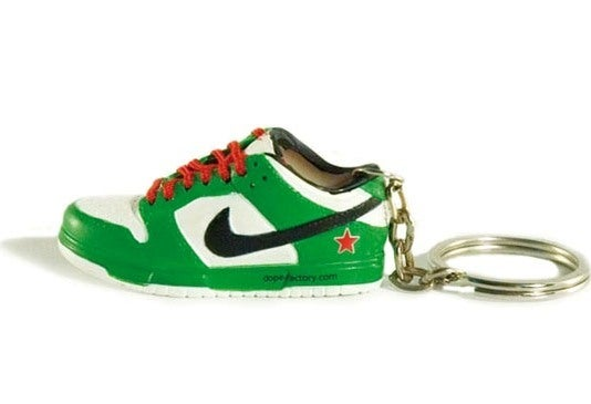 sports shoes c2762 903c9 Nike Sb Heineken keychain