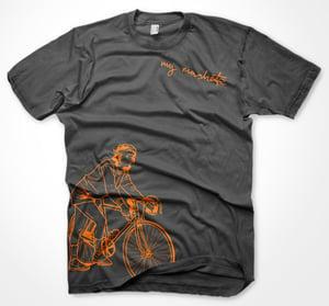 Image of My Machete Cyclist T (Grey)