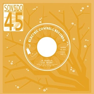 "Image of Os Magrelos, Laura Ann & Magrela Rose (EC014) 7"" 45rpm"