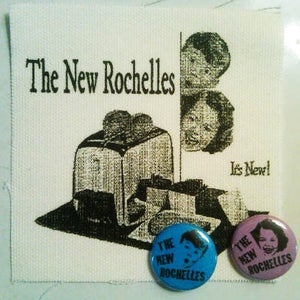 Image of New Rochelles Pins / Patches