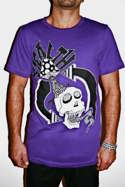 Image of Creative Cycle Tee Royal Purple