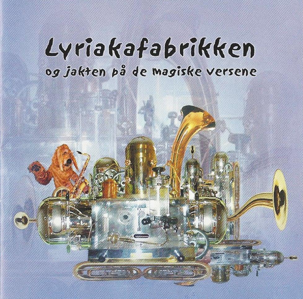 Image of Lyriakafabrikken og jakten på de magiske versene (2003)