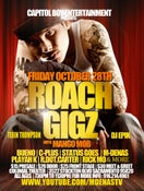 Image of Roach Gigz Live Store is Closed. Tickets still available at the door