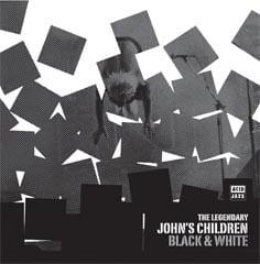 Image of John's Children - Black & White CD