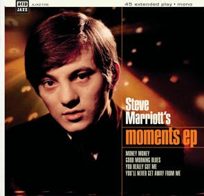 Image of Steve Marriott - Moments EP 7""