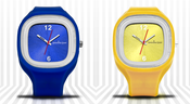 Image of Shocking Goat Watch - Blue/Yellow