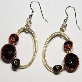 Image of Oval Earrings