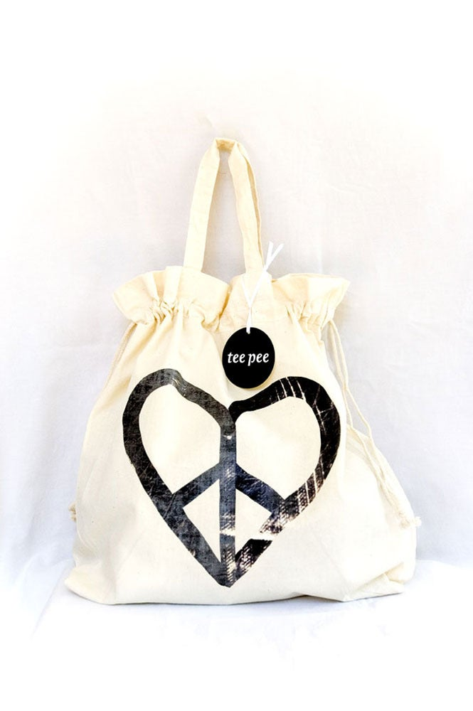 Image of Tee Pee Love Bag Drawstring